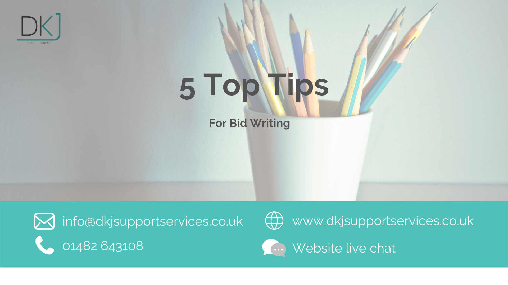 Top 5 Tips for Bid Writing